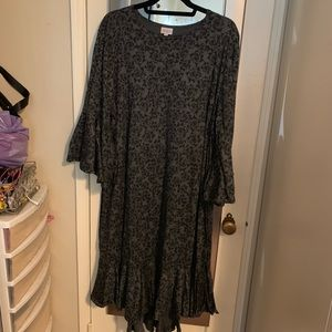 Lularoe Maurine Ruffle Dress